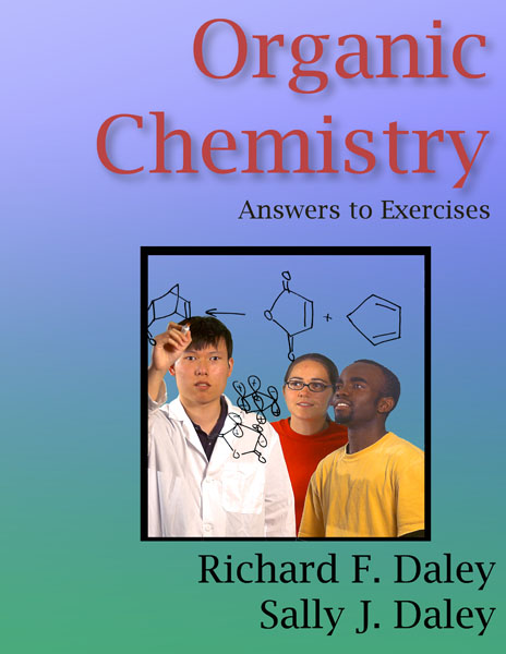 Cover for the organic chemistry textbook answers to the exercises